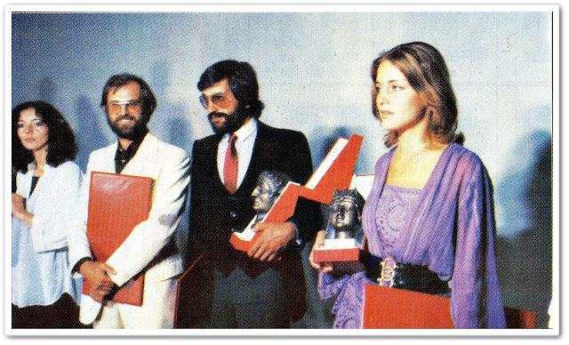 merima isakovic zarko lausevic Gordana Kosanović, Radko Polič, Dragan Nikolić i Merima u Nišu 1979