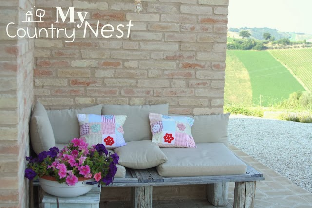 blog hand made My country Nest inspirujacy blog poduszki hand made
