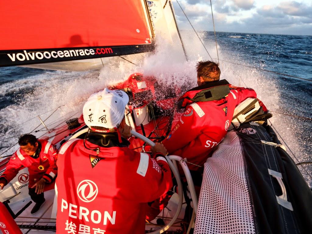 Eric Peron à la découverte des mers du Sud.