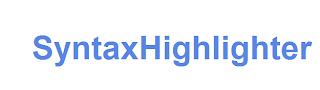 Подсветка синтаксиса кода SyntaxHighlighter