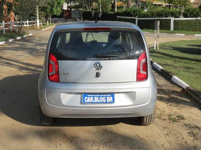 Volkswagen up! 2015 - Move-up! Prata Completo - teste