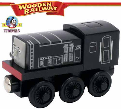 Toy Thomas wooden railway Day of the Diesels and Misty Island Rescue movie star Diesel train model