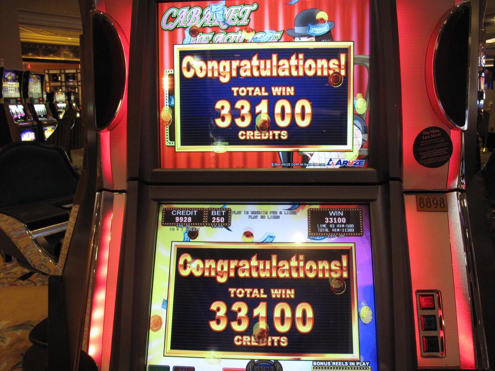 High limit slots bellagio