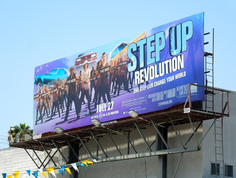 Step Up Revolution Mob billboard