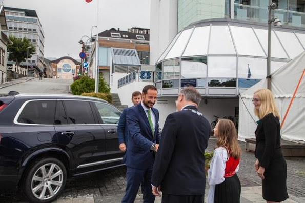 Prince Haakon Attended The Norwegian International Film Festival