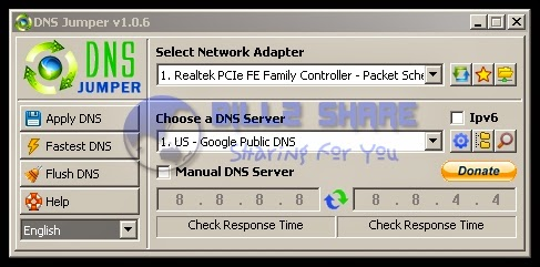 DNS Jumper v1.0.6