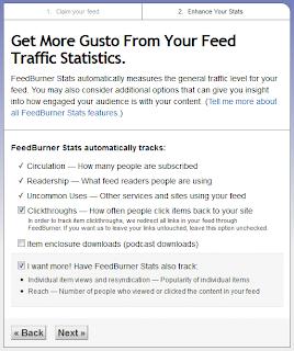Statistik feed