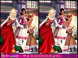 Barbie tìm điểm khác biệt, game tre em