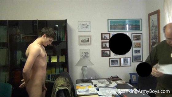 Boy punishment naked