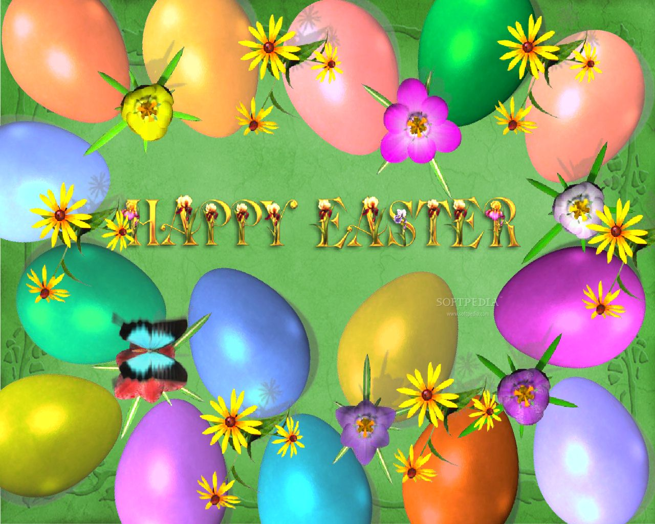 Colorful Easter Wallpapers
