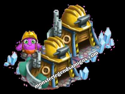 imagen de la choza de obrero de monster legends