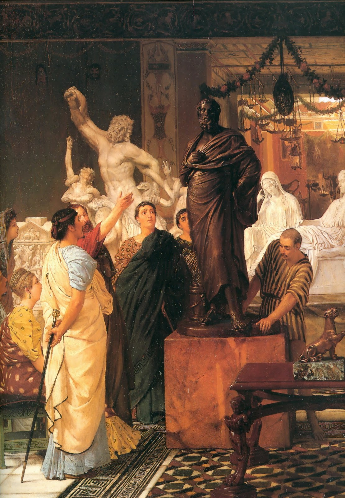 alma-tadema gallery sculpture