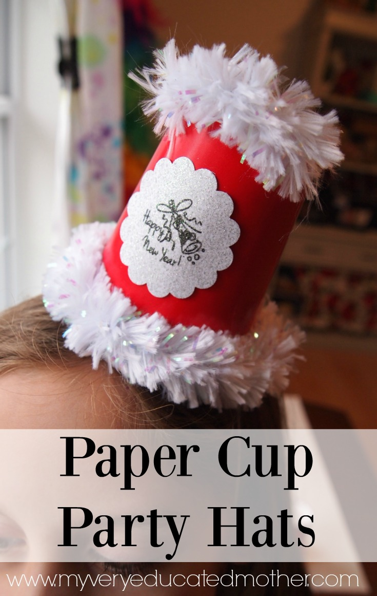 Paper Cup Party Hats