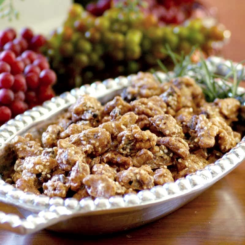 Brown Sugar, Fig and Rosemary Walnuts