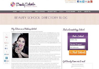 "Beauty School Directory ""My Future as a Makeup Artist"""