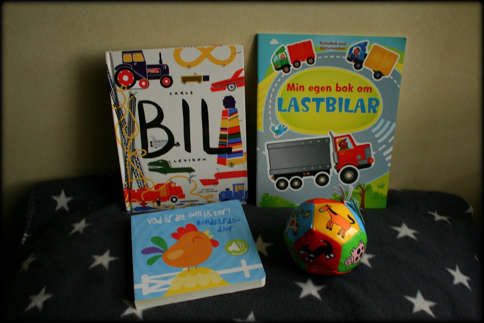 Vargnatts bokhylla Barnböcker i present
