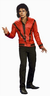 Official Thriller red jacket for fancy dress