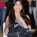 Shruti Haasan Luking awesome In a Blue Mini Skirt..
