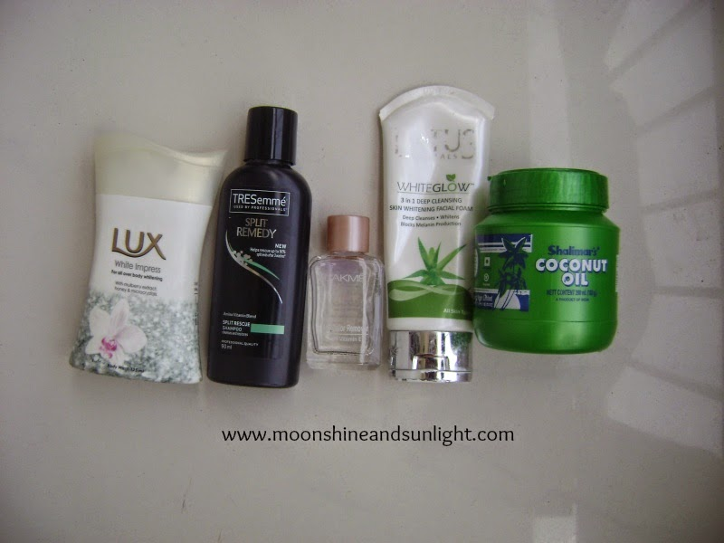 Semptember 2014 empties || My first empties post