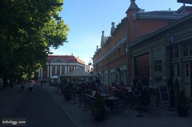 Turku city center