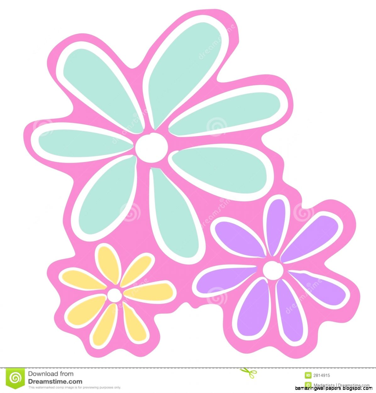Pink Flowers Clip Art Amazing Wallpapers