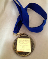 Medal given to the winning team.