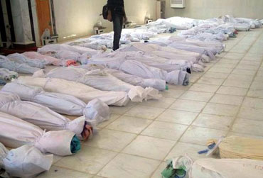Death, packaged in Syria