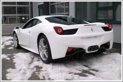 Amazing Pics: The All New Camouflaged Ferrari 428 Italia
