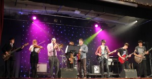 All different ages and styles at the October 2015 Calstock Jazz festival