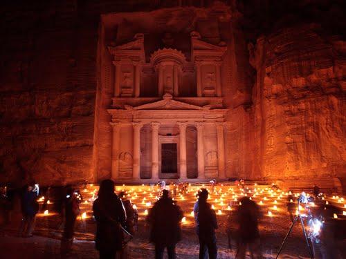 Planning to Petra Wadi Musa at night