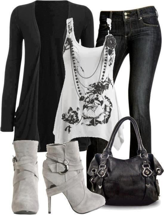 Trendy Polyvore Outfits Winter