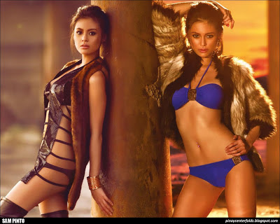 Sam Pinto In FHM 3