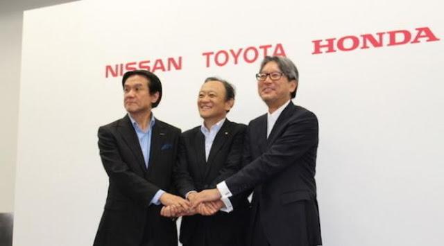 Bikin SPBU Hidrogen Toyota, Nissan, dan Honda Kolaborasi