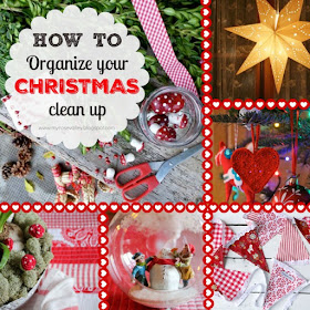 HOW TO Organize Your christmas Clean Up