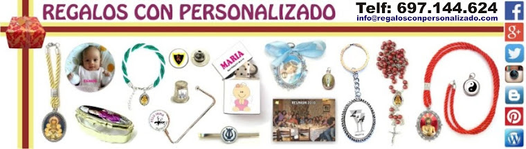 OFERTAS REGALOS CON PERSONALIZADO