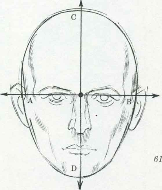 Line Drawing Of Human Face : Advanced projects in computers drawing basic face head