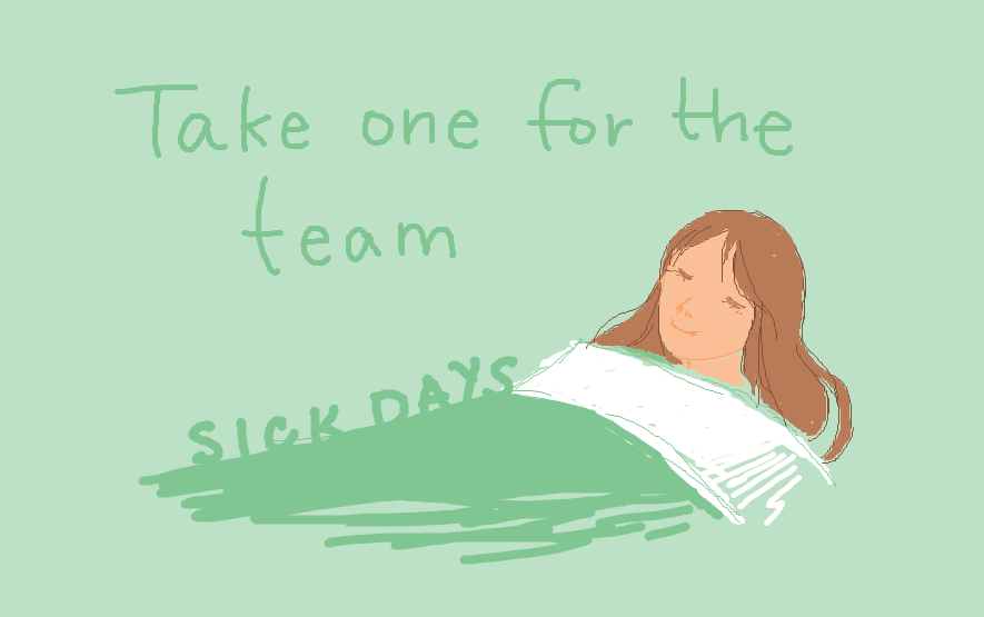 How to manage sick days