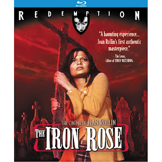 Iron Rose Blu-Ray cover and Amazon link