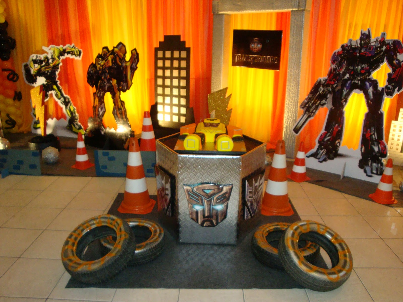 Festa Infantil Tema Transformers 4  Car Interior Design