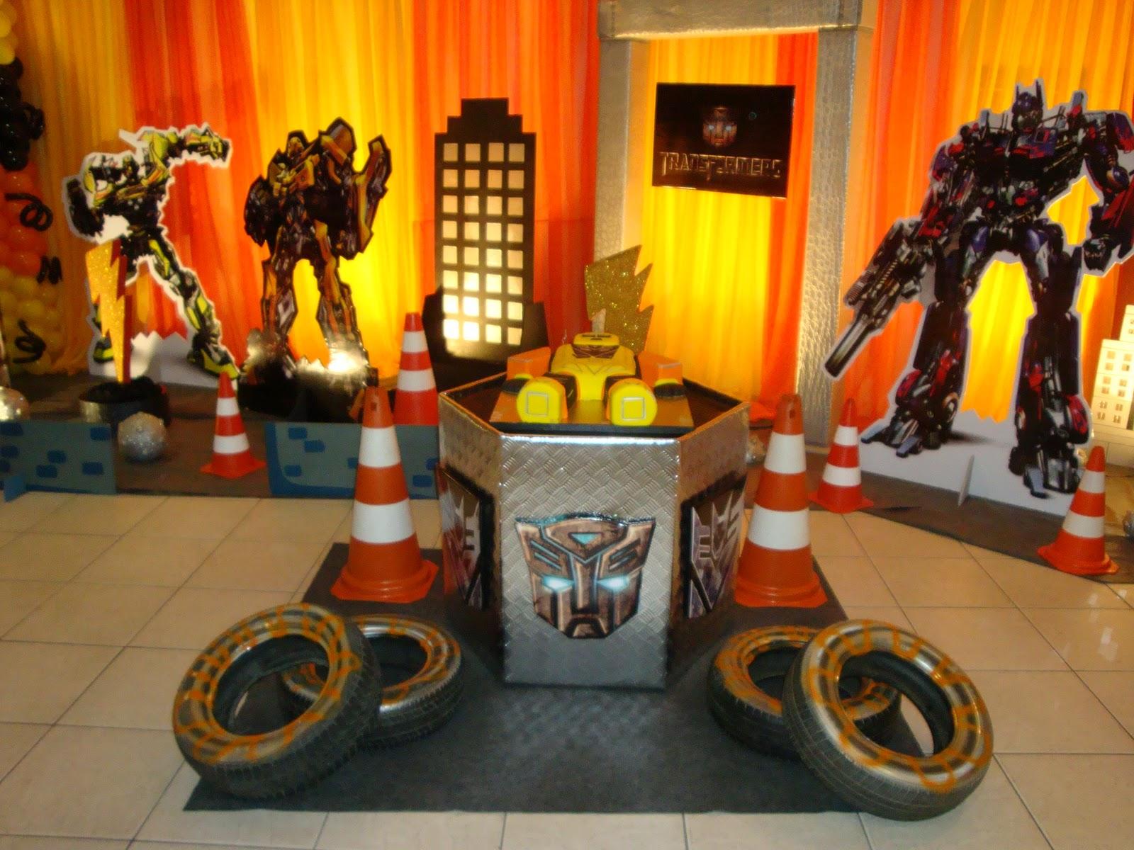 decoracao festa transformersFesta Infantil Tema Transformers 4