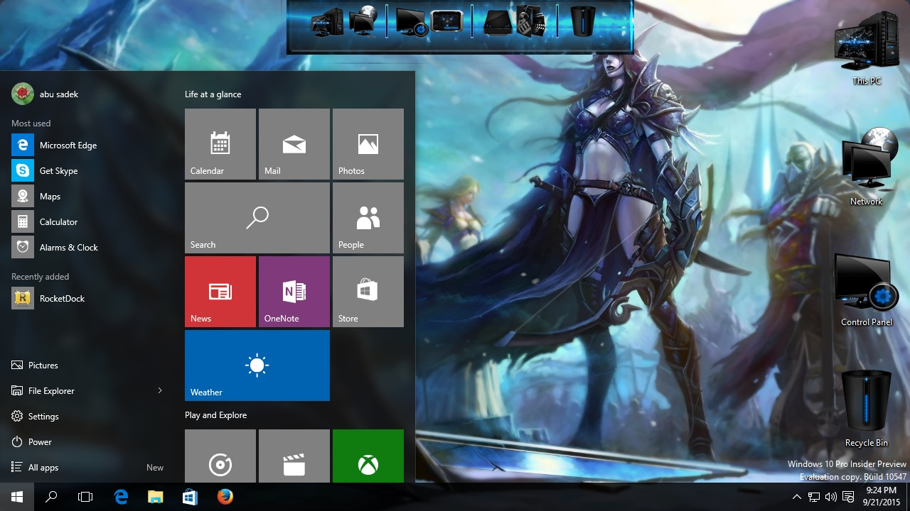 How to install World of Warcraft theme on Windows 10