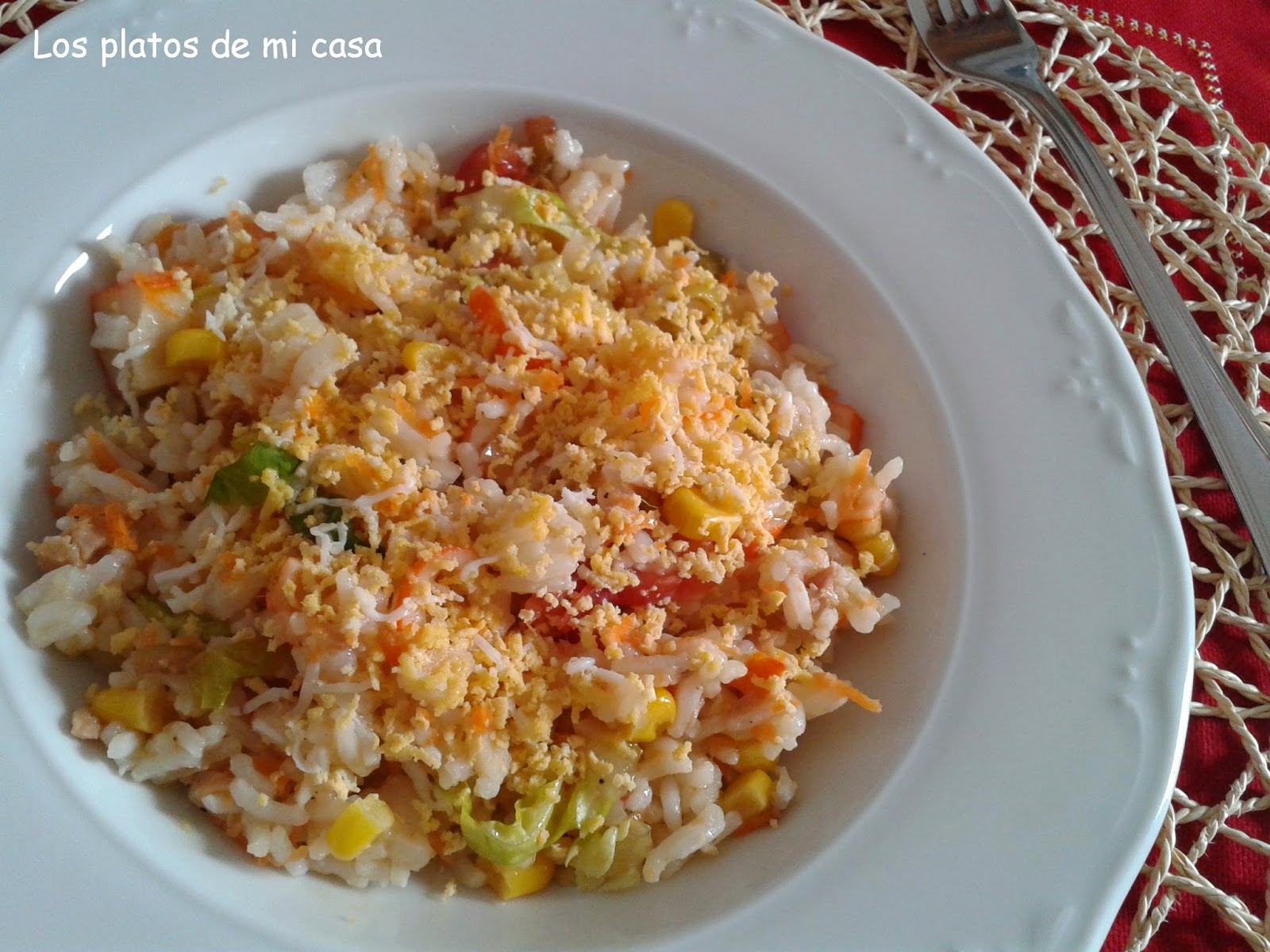 Ensalada de arroz - Ensalada de arroz y atun ...