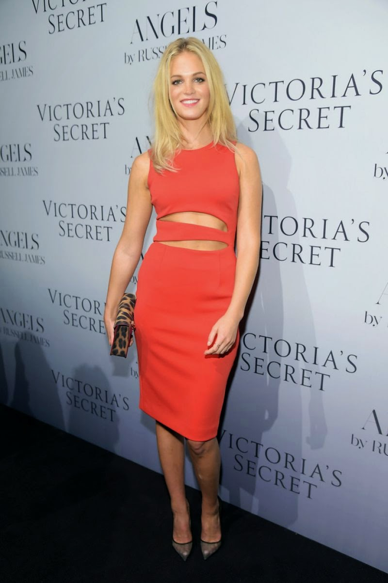 Erin Heatherton - Russell James' 'Angel' Book Launch in New York City