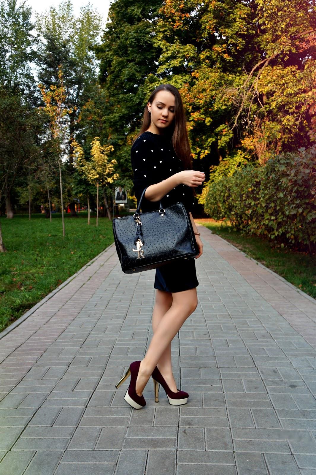 fashion blogger Alina Ermilova