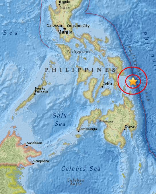 Magnitude 4.8 Earthquake of Sulangan, Philippines 2015-06-03