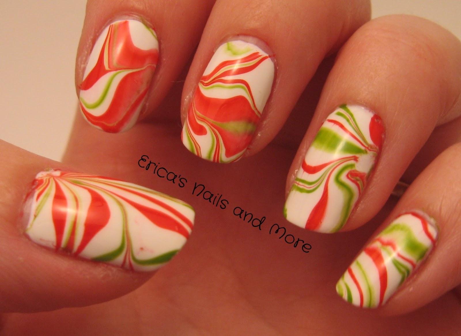 ericas nails and more candy cane nails