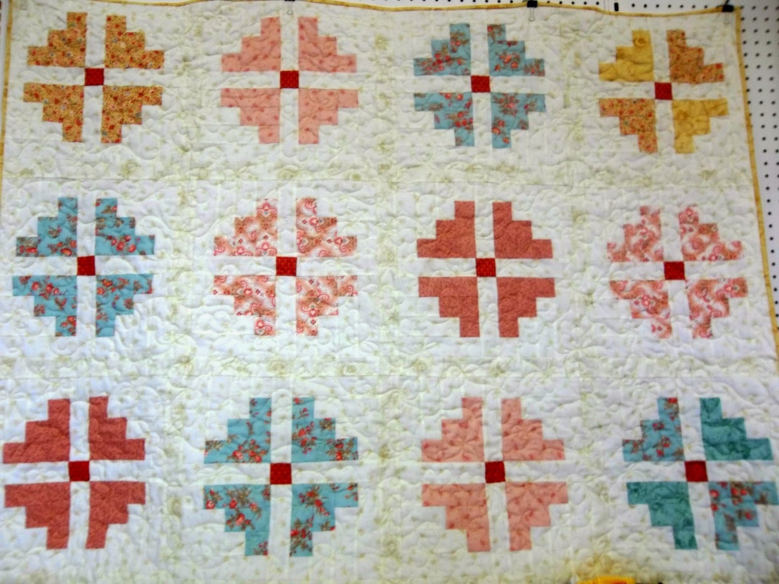 Quilting Patterns With Fat Quarters : Always in Stitches at Ben s: June Moda Club