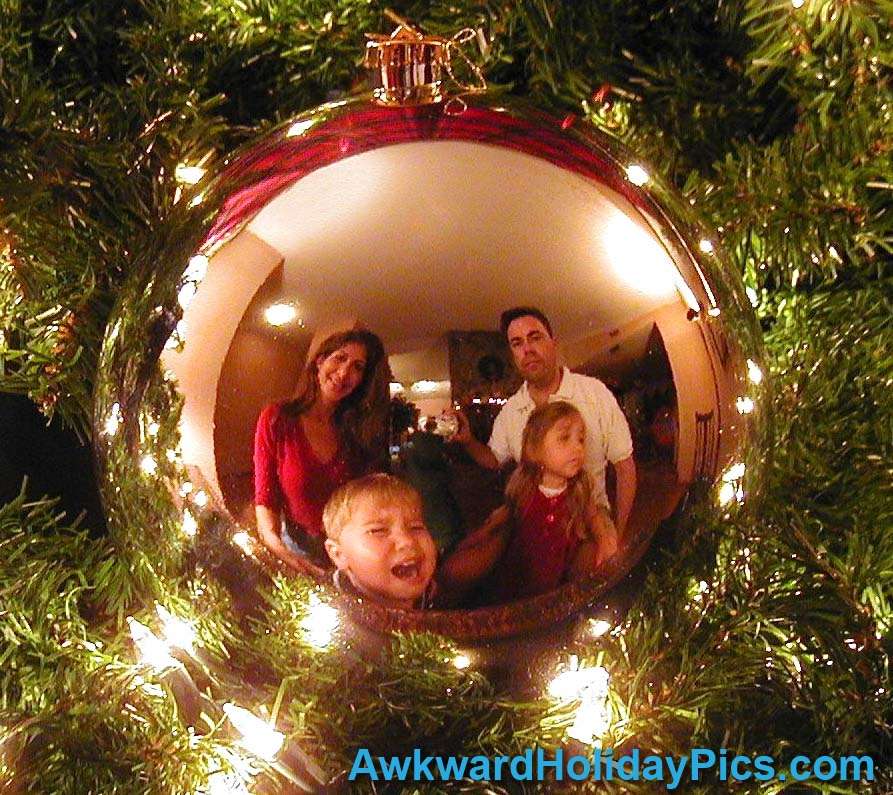 Nice Another Great Family Christmas Card Photo Idea...gone Wrong.