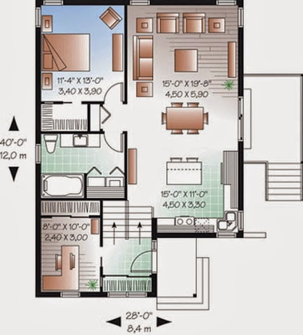 Rumah minimalis Type 36 3