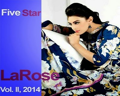 LaRose Summer Dresses Lawn Collection 2014 Vol 2